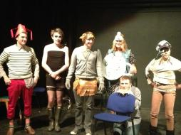 Our New Mirthlings for 2012/13 in their opening outfits.