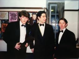 Dan, Gareth and Andrew from the night of the Ambassador's Ball, March 1998